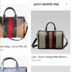 391b32ec495c Gucci Bags - Authentic Gucci Boston Bag.